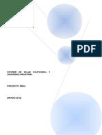 Instructivo Informe Proyecto Bbva
