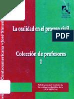 La Oralidad en El Proceso Civil - Guillermo a. Parada Gamez(1)