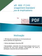 Definição de Gerenciamento de Risco IEEE parte I
