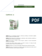 farmacologia gallistica