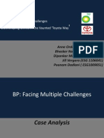 BP and Toyota Analysis_Group 4
