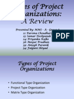 Types of Project Organizations - A Review