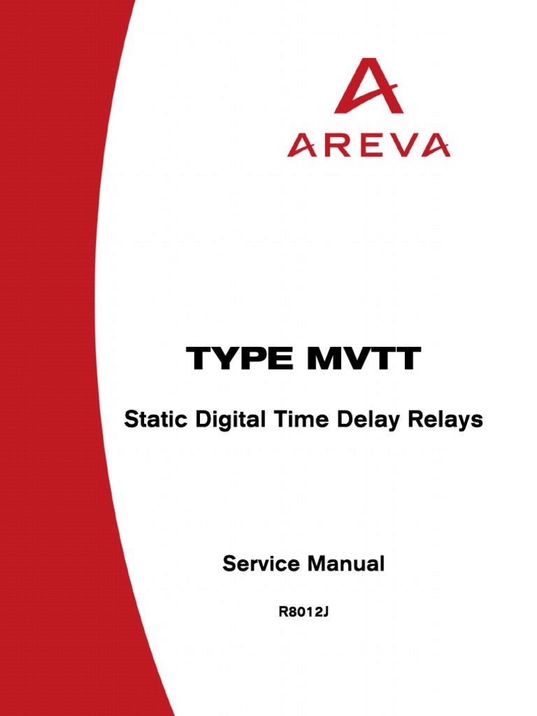 Areva mvtt relay manual relay electrostatic discharge asfbconference2016 Choice Image