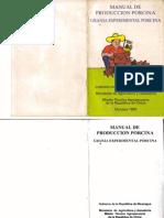 Manual Produccion Porcina - Granja Experimental