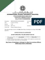 Final Exam MCT3214 Nov09