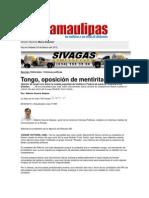 Opinión de J. Lera sobre medida populista Gobierno Federal de pasar la Tenencia a Estados. Junio 2010