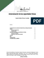 AUTOEVALUACIÓN DE LAS CAPACIDADES FISICAS BÁSICAS