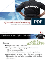Cyber Crimes & Countering Procedures