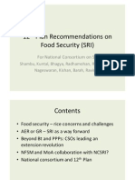 Food Security_System of Rice Intensification