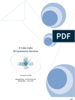 E Cube India M Commerce Profile