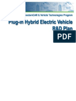 Hydrogen Plug-In Hybrid Electric Vehicle (PHEV) R&D Plan