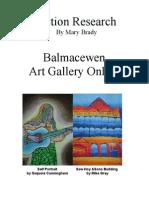 Balmacewen Art Gallery Online