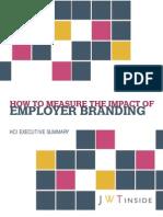 Measure Impact of Employer Branding