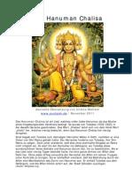 Das Hanuman Chalisa - Deutsche Übersetzung