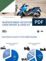 Dossier de Producto C600Sport & C650GT