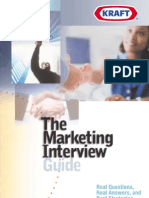 Kraft Marketing Interview Guide v.2