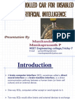 Controlled pdf brain disabled car intelligence using for artificial