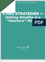 5 Pro Strategies to Wealth