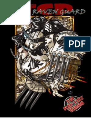 Codex - Raven Guard --- Playtest 0 5-2 | Space Opera Games