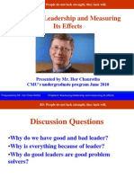 Final Chapter Assessing Leadership and Measuring Its Effects 1