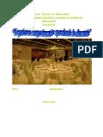 Organizarea Compartimentelor Operation Ale de Aliment a Tie