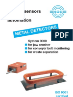 Metal Detector Brochure