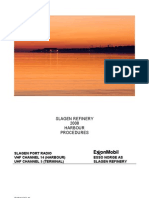 Slagen Refinery Harbor Procedure (Exxon Mobil)