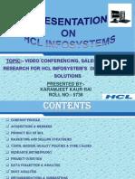 Hcl Info System Final Ppt