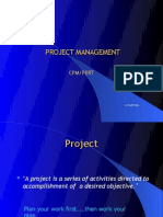 CPM PERT  by Dr Punit Sethi