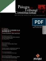 CDG - ¿Cometen prevaricato los miembros del tribunal constitucional?