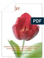 Atithya IHTM MDU Newsletter - 2011