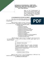 Lei Complementar 0063-2010- Assembleia Legislativa do Amapá