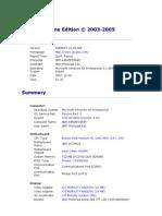 Report IBM Thinkpad X31 Type 2672 - 2