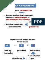 analisa gravimetri
