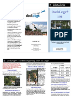 DockDogs 101 Brochure