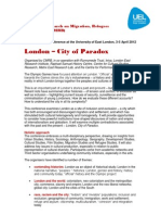 London City of Paradox Notice