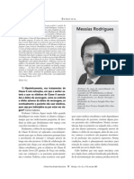 Entrevista Dr. Messias Rodrigues