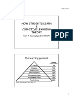 HOW STUDENT LEARN Upload[Compatibility Mode]
