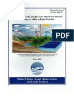Application of UBC and DHSVM Models for Selected Catchments of Indus Basin Pakistan(GCISC-RR-11)
