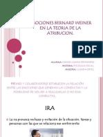 Emociones Bernard Weiner en La Teoria de La Isamar