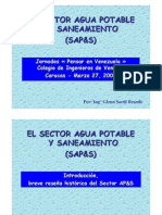 1 El Sector Agua Potable y to
