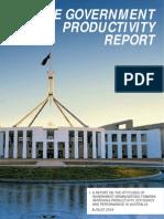 Govt Productivity Report