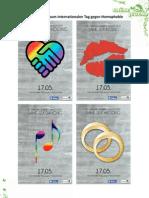 Aktionsreader für den internationalen Tag gegen Homophobie