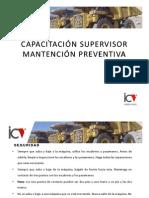 CAPACITACIÓN SUPERVISOR MANTENCIÓN PREVENTIVA (AM)