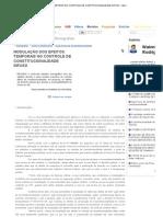 MODULAÇÃO DOS EFEITOS TEMPORAIS NO CONTROLE DE CONSTITUCIONALIDADE DIFUSO - Walenberg Rodrigues Lima - JurisWay