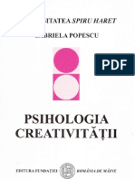 6743860 Gabriela Popescu Psiholgia Creativitatii