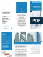 OpenSees Days 2012 Brochure