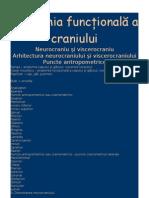 Anatomia func+úional-â a craniului