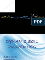 Soil Dynamic Properties