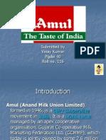 Amul Supply Chain India